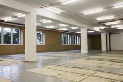Empty Warehouse royalty free stock image