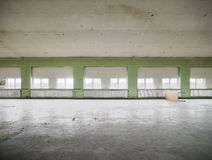 Empty warehouse Royalty Free Stock Image