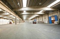 Empty warehouse Stock Image