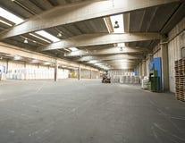 Empty warehouse Stock Photo
