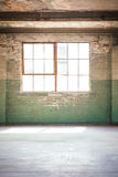 Empty warehouse office or commercial area Stock Photo