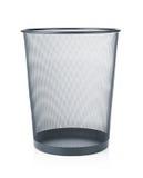 Empty wastebasket Stock Photos