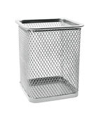 Empty wastepaper basket Stock Photos