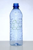 Empty Water Bottle Stock Images