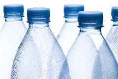 Empty water bottles Royalty Free Stock Images