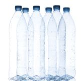 Empty water bottles Royalty Free Stock Image