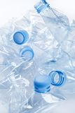 Empty water bottles Royalty Free Stock Photo