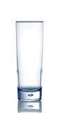 Empty water glass Stock Photos