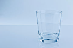Empty water glass, nutrition and health-care concept Stock Photo