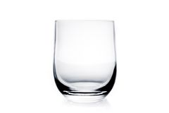 Empty water glass Stock Photography