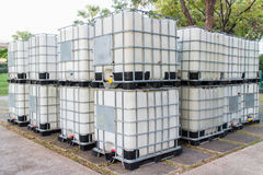 The empty water tank Royalty Free Stock Images