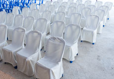 Empty wedding chairs elegantly Royalty Free Stock Photo