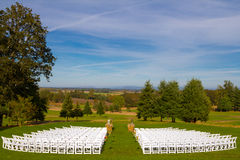Empty Wedding Venue Seating Stock Photos