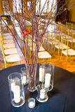 Empty weding reception Royalty Free Stock Photo