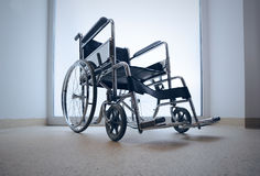 Empty wheelchair Stock Photos