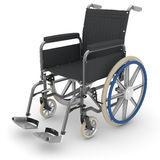 Empty wheelchair Royalty Free Stock Photos