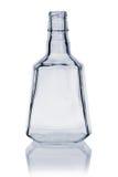 Empty Whiskey Bottle Stock Image