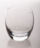 Empty whiskey glass Royalty Free Stock Image