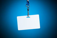 Empty white badge backdrop Royalty Free Stock Photography