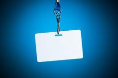 Empty white badge backdrop Royalty Free Stock Photography