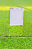 Empty White board Stock Photos