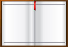 Empty white book background for your text royalty free stock images