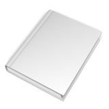 Empty White Book Royalty Free Stock Images