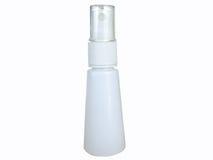 Empty White bottle Stock Photo