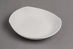 Empty white bowl Royalty Free Stock Photography