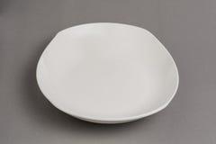 Empty white bowl Royalty Free Stock Photos