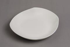 Empty white bowl Stock Photo