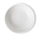 White bowl isolated Stock Images