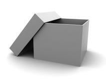 Empty white box Stock Photos