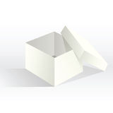 Empty White Box Royalty Free Stock Images