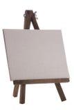 Empty white canvas Stock Photo
