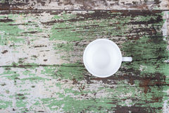 Empty white coffee cup Royalty Free Stock Photo