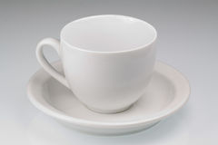 Empty white cup Royalty Free Stock Photography