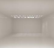 Empty White Interior Royalty Free Stock Image