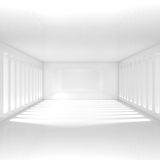 Empty White Interior Royalty Free Stock Image