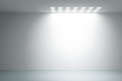 Empty white interior Royalty Free Stock Photos