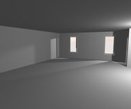 Empty White Interior Image Royalty Free Stock Images