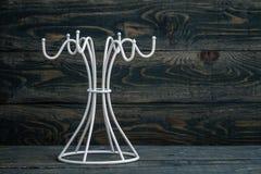 Empty White Mug Hanger Royalty Free Stock Images