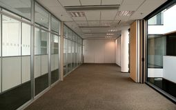 Empty white office Stock Image