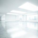 Empty white office interior Royalty Free Stock Photos