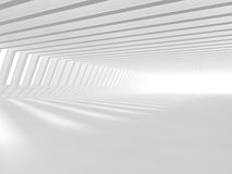 Empty white open space 3D rendering Royalty Free Stock Photography