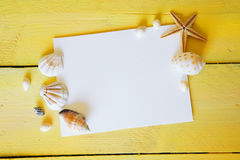 Empty white paper Royalty Free Stock Images