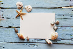 Empty white paper Royalty Free Stock Image
