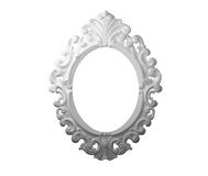 Empty white picture frame. Stock Photography