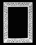 Empty White Picture Frame Royalty Free Stock Images