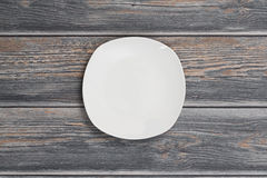 Empty white plate. Stock Photo